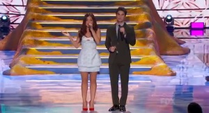 Lucy Hale, Pretty Little Liars and Darren Criss, Glee