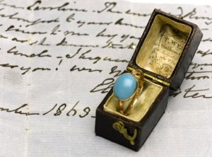 Image: Jane Austen's ring, on auction at Sotheby's