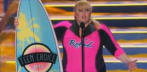 rebel wilson wet suit