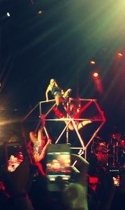 "Ke$ha Performing ""Take it Off"""