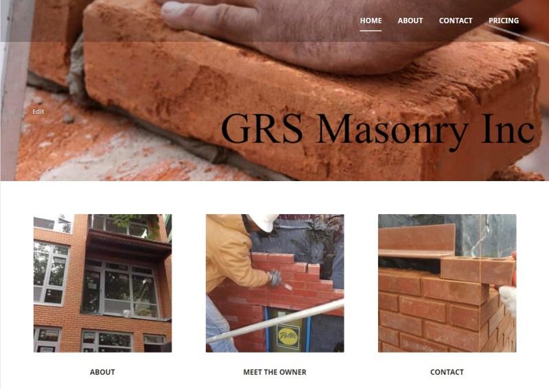grs website sample