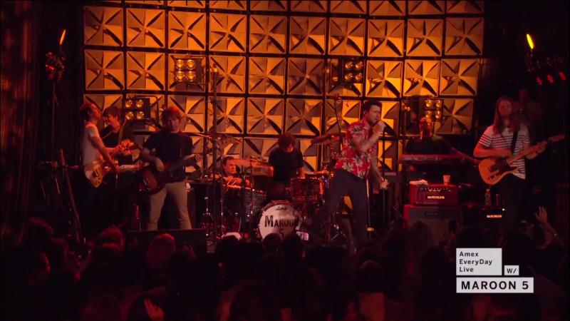Maroon 5 amex live 3