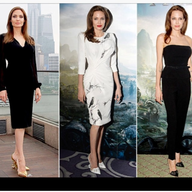9f4760e5d85f Angelina Jolie s  Maleficent  Louboutin s Sell for  1