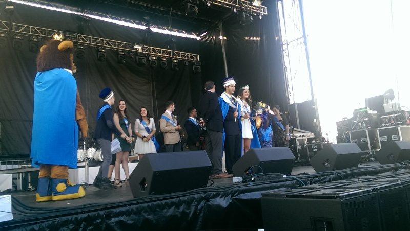 Our 2014 Fall Festival King and Queen, George C. and Hanna K.!