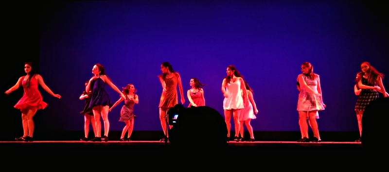 "Such a fun tap routine to Sylvan Esso's ""Dress"""