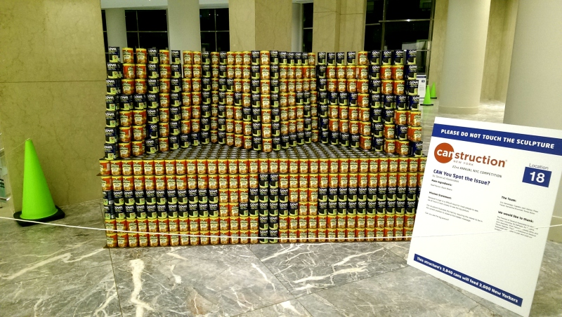 canstruction hunger