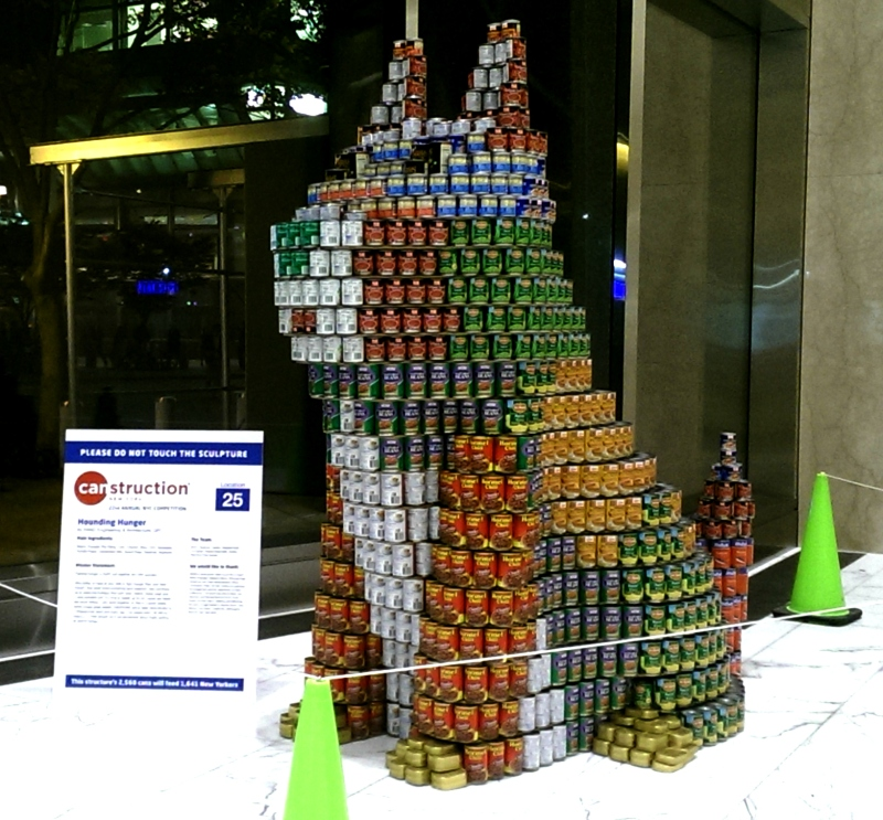canstruction dog