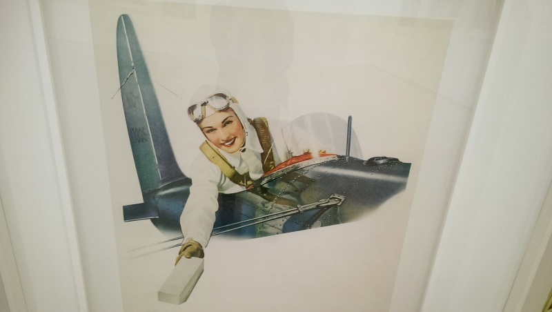 I'm glad Amelia Earhart was included in this exhibit :)