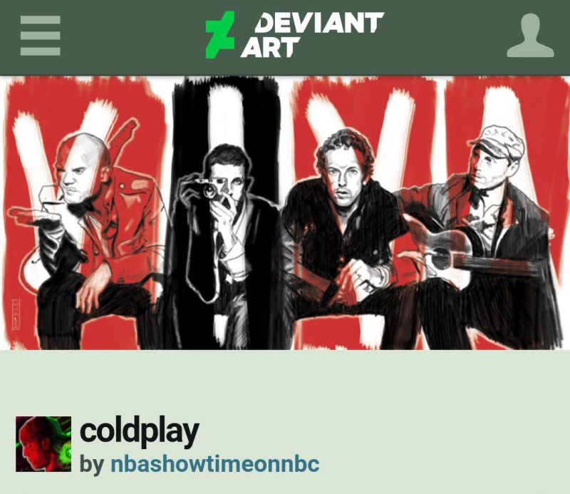 coldplay fan art