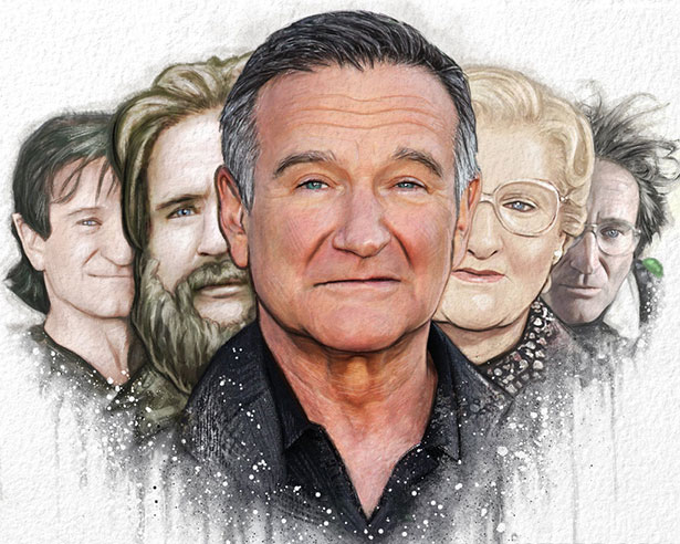 robin williams fan art