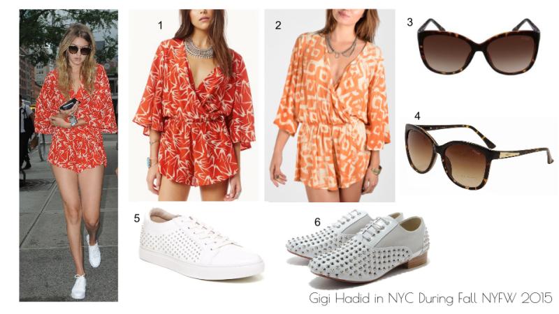 Gigi Hadid NYC NYFW 2015