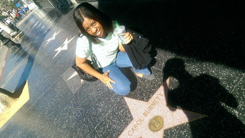 carol burnett hollywood walk of fame