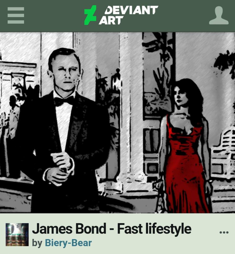 james bond fan art