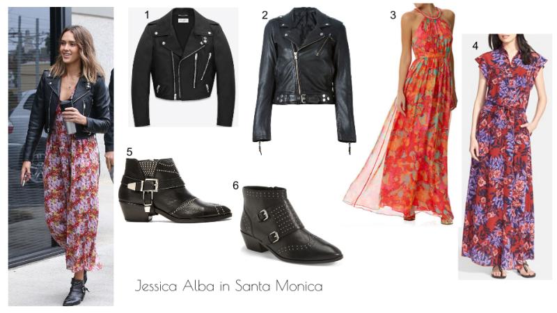 Jessica Alba in Santa Monica
