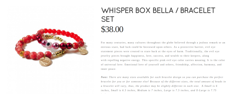 whisper box bella amna ali boutique
