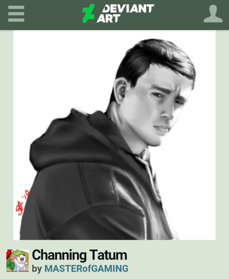channing tatum fan art