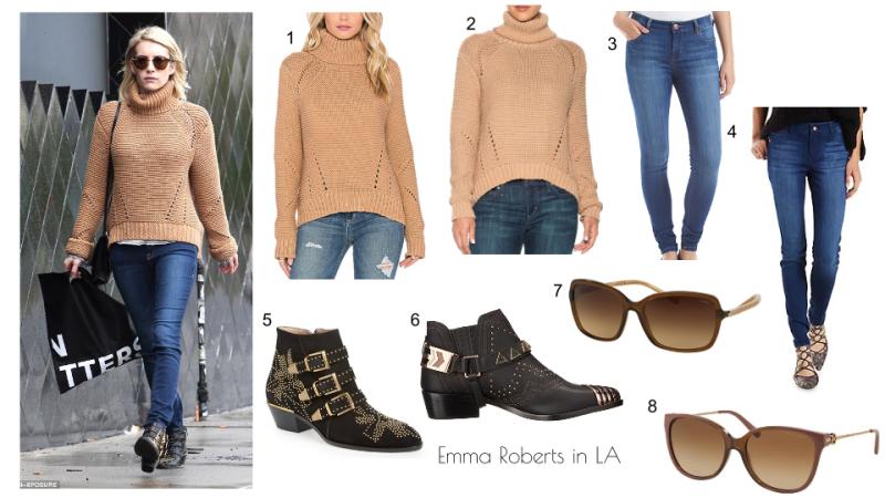 Emma Roberts in LA