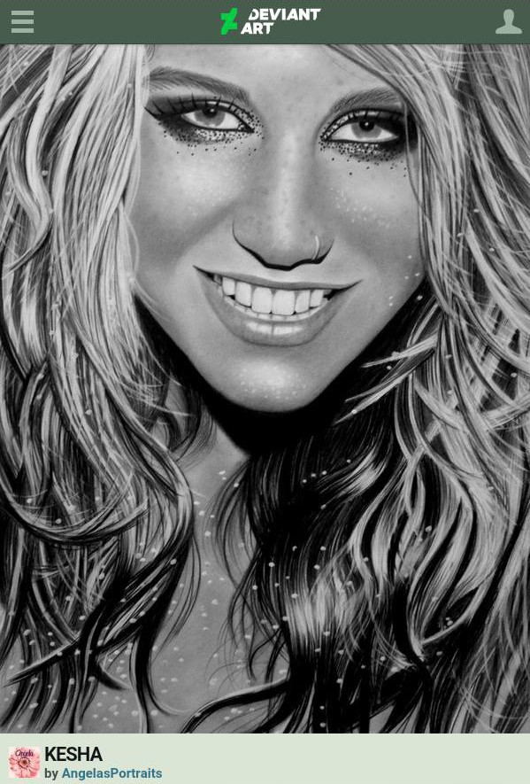kesha fan art