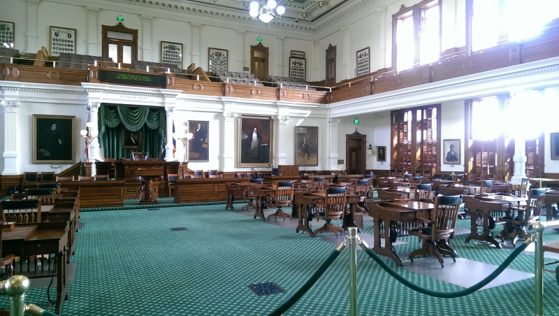 texas capitol senate room