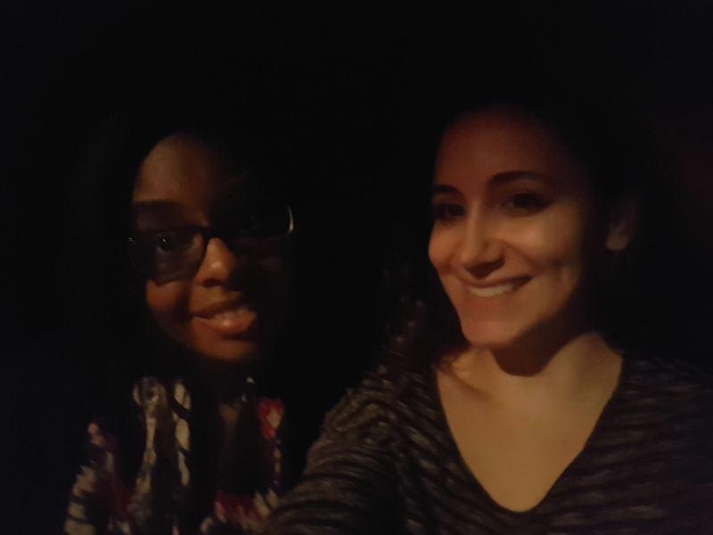 Karina and I at 3 Mics