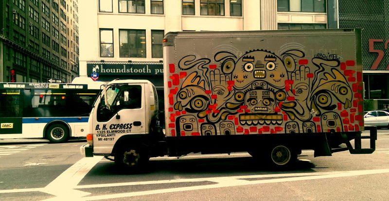 urbanimal bk express truck