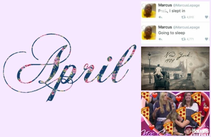 april faves