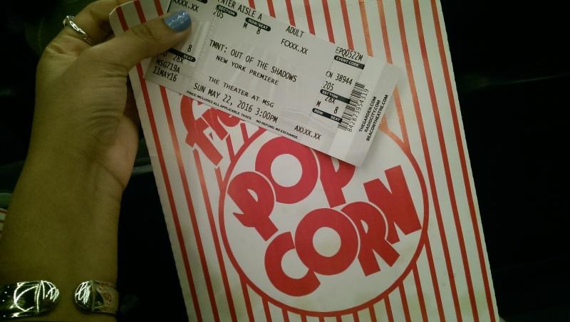 tmnt msg theater popcorn