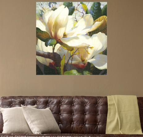 fragrant spring flower art