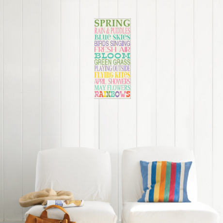 spring quote posters