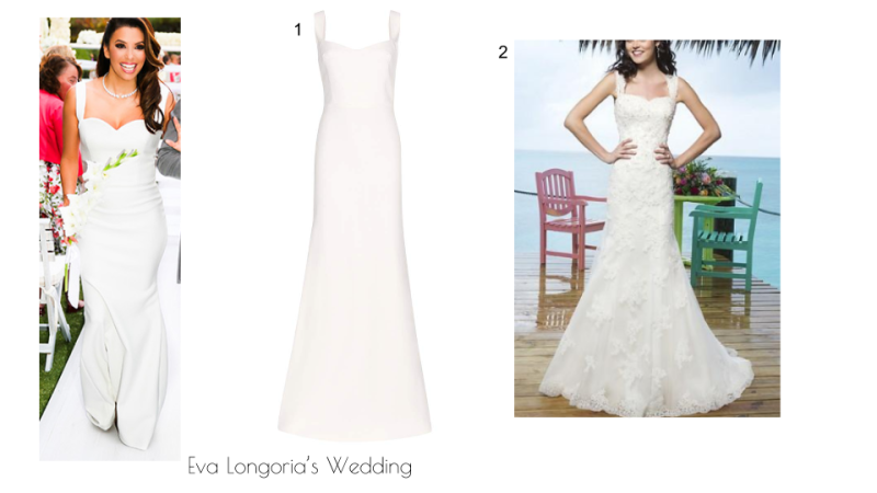 Eva Longoria's Wedding Dress
