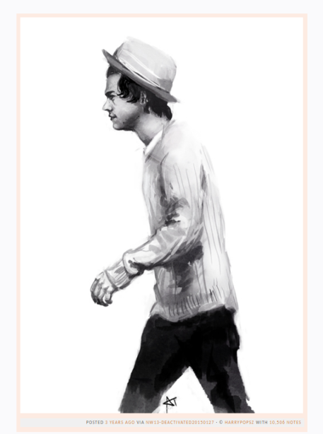 harry styles fan art