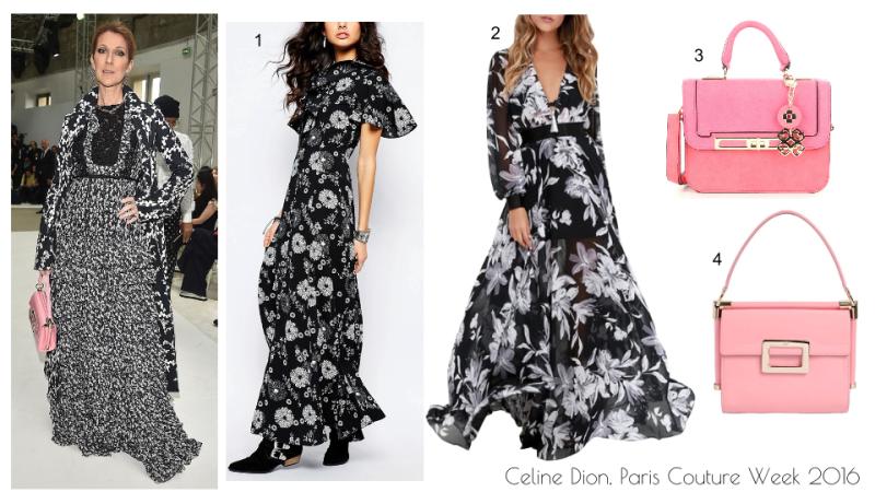 Celine Dion Paris Couture Week 2016