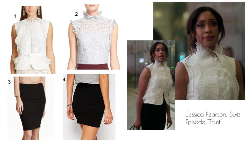 Jessica Pearson, Suits Episode -Trust-