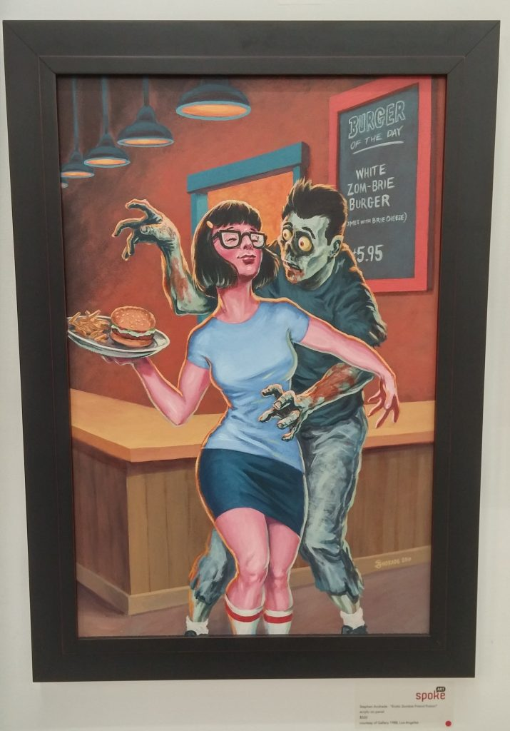 erotic zombie friend fiction stephen andrade tina belcher bobs burgers