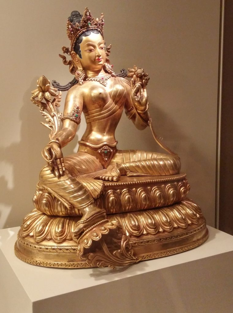 tara deity copper