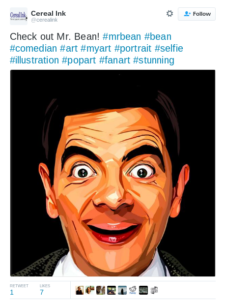 mr bean fan art