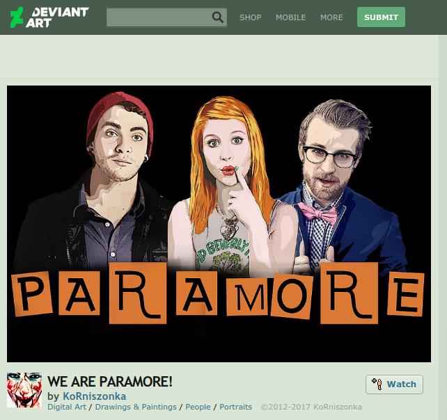 paramore fan art