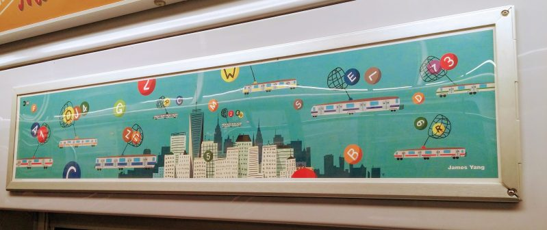 james yang catching lines mta subway art