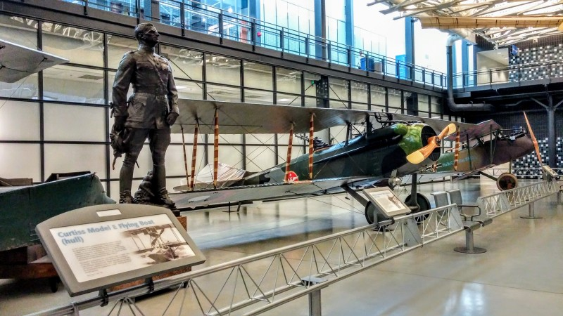 Brigadier General William Mitchell Udvar Hazy Air Space Museum