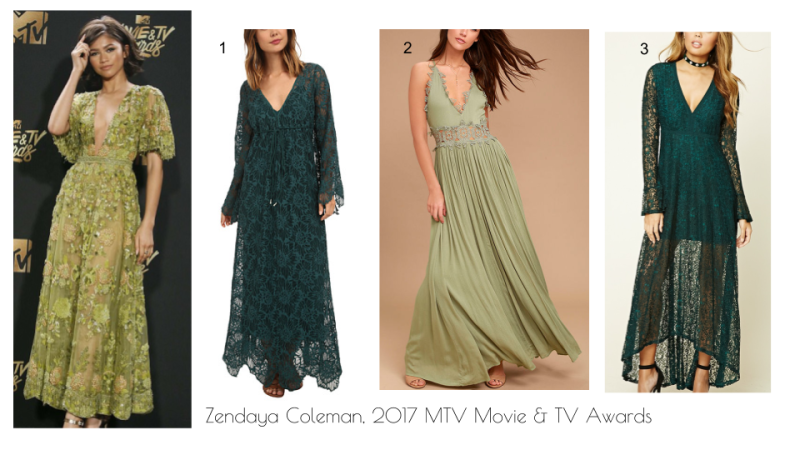 Zendaya 2017 MTV Movie and TV Awards fashion