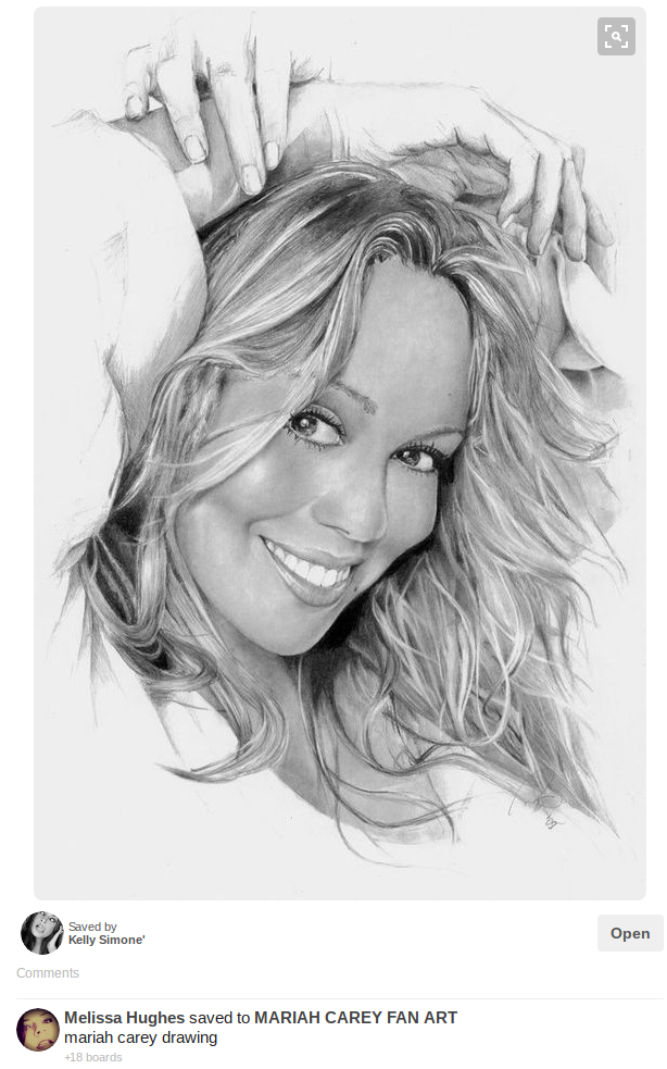 mariah carey fan art