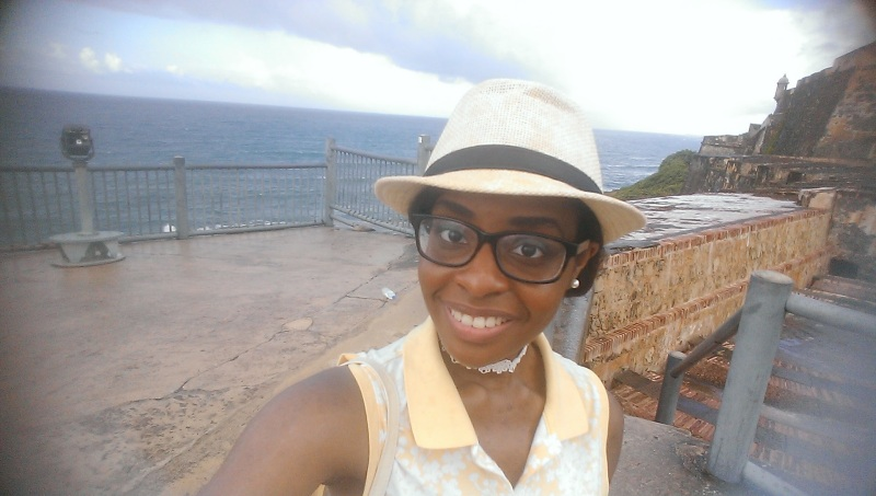 El Morro selfie