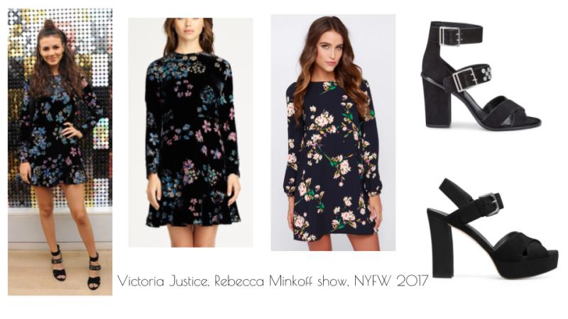 Victoria Justice Rebecca Minkoff NYFW 2017