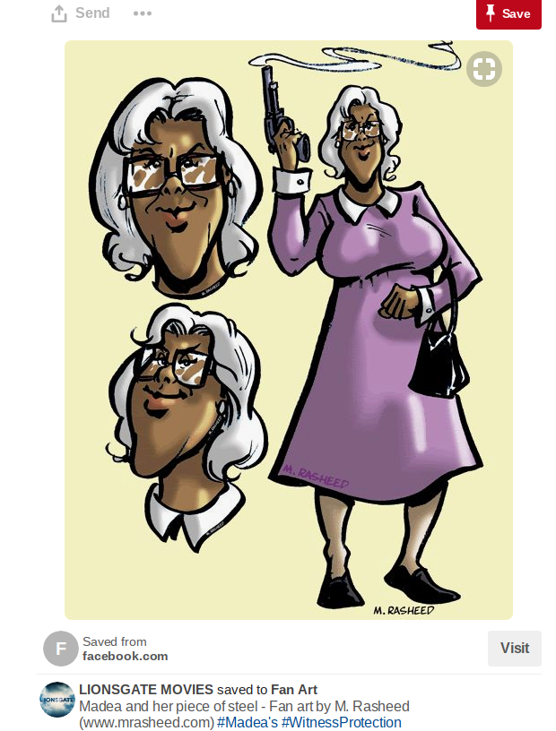 m rasheed madea fan art