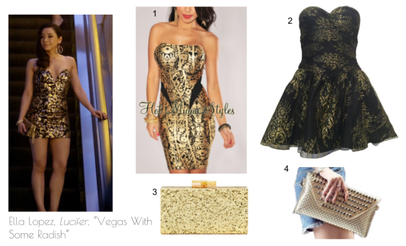 "Ella Lopez, Lucifer, ""Vegas With Some Radish"" fashion"