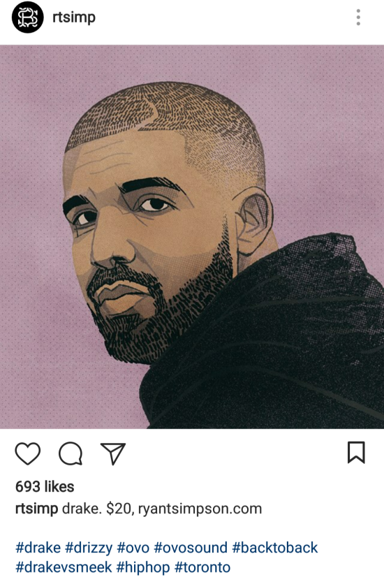 drake fan art rtsimp