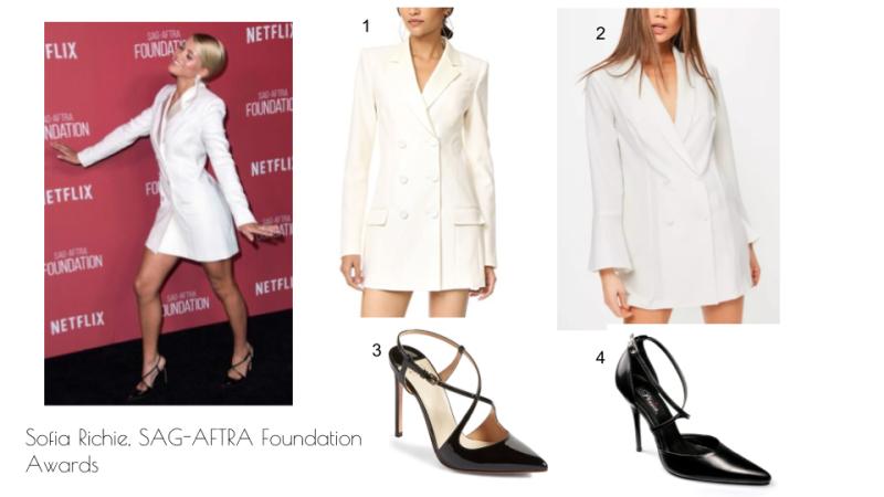 Sofia Richie at SAG-AFTRA Foundation Awards fashion