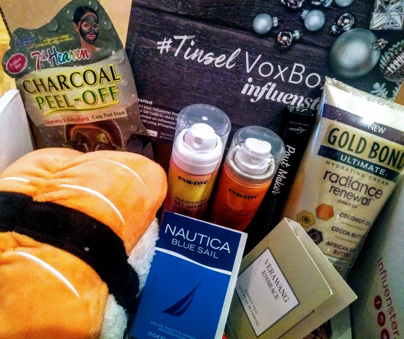 tinsel voxbox influenster