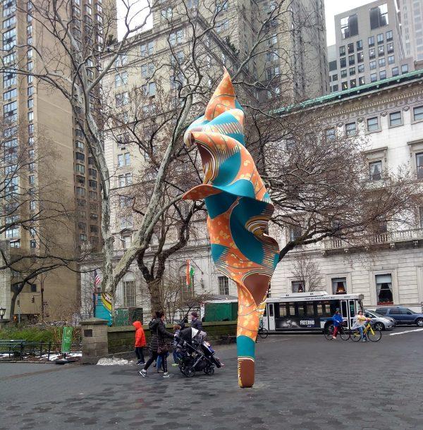 Yinka Shonibare Wind Sculpture (SG) I
