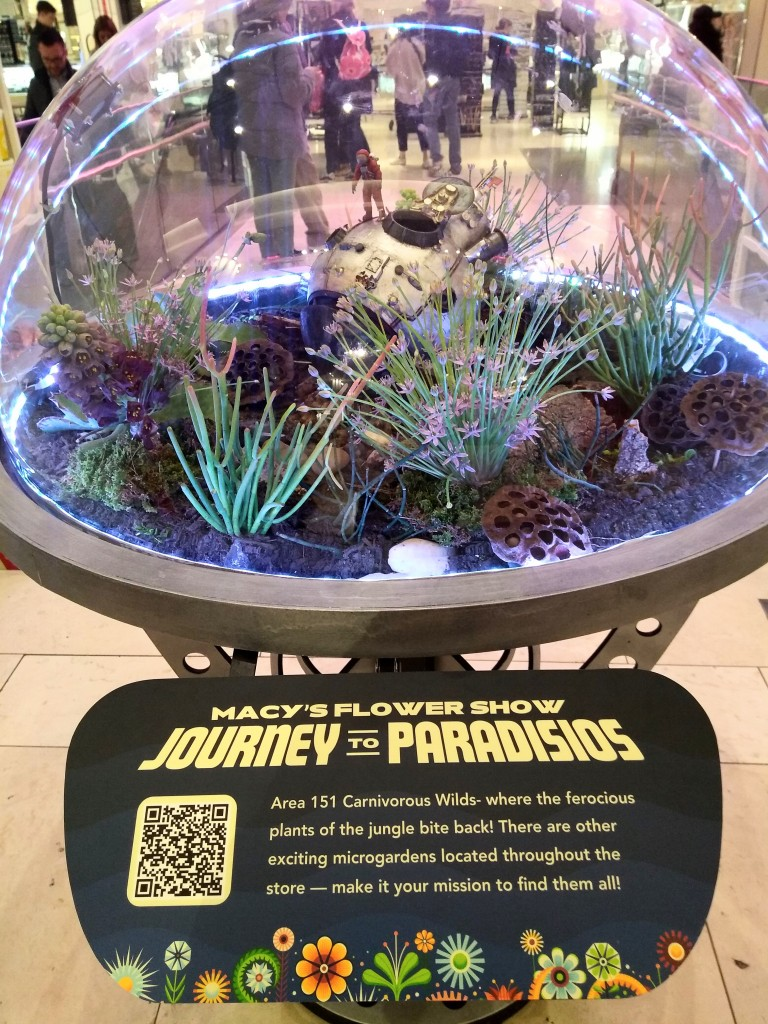 Journey to Paradisios macys flower show 2019